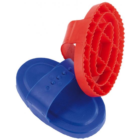 Étrille Hippo-Tonic ovale plastique