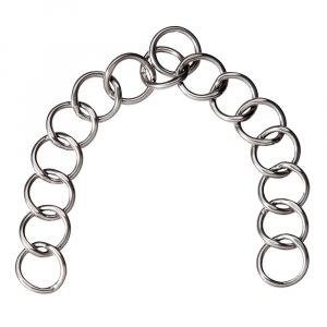 Kinnkette für den Fahrsport 15 Ringe