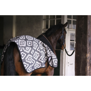 Pénélope Ethnique Fleece-Ausreitdecke