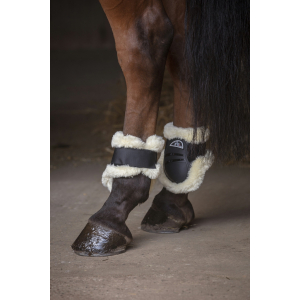 Norton XTR Fetlock boots synthetic sheepskin