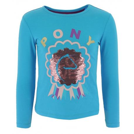 T-shirt Equi-Kids Pony Love à sequins - Enfant
