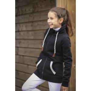 Pénélope Comète zipped hoodie - Children