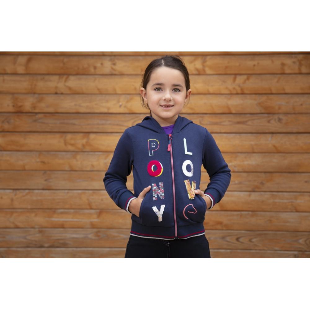 Sweat à capuche Equi-Kids Alizé - Enfant