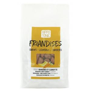 Bonbons pour chevaux Hippo-Tonic - banane/carotte  sachet