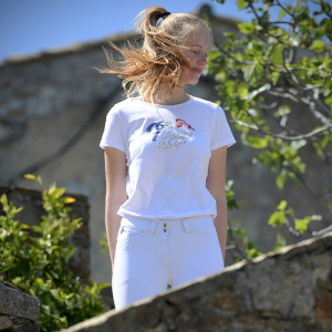 T-shirt Pénélope French Moby - Femme