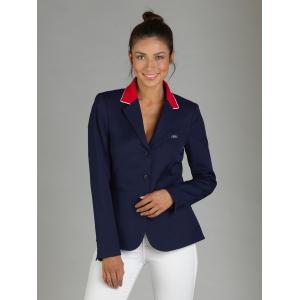 GPA Naska red collar competition jacket - Ladies
