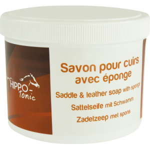 Hippo-tonic Leather soap