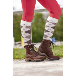 EQUITHÈME Argyle socks - women