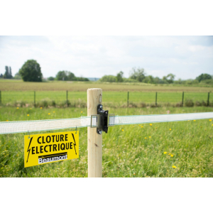 Plaque de signalisation de clôture Beaumont
