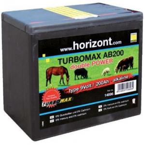 Horizont Turbomax AB200 Batterie 9V - 200AH