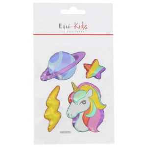Equi-Kids Relief Unicorn + Planet Stickers