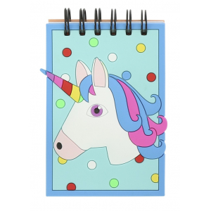 Carnet de notes Equi-Kids Licorne