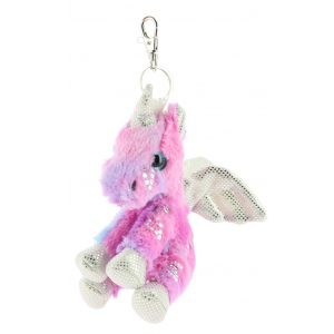 Equi-Kids Licorne Cuddly Toy Keyring PADD
