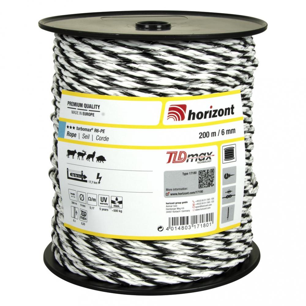 Cordon Horizont Turbomax R6-PE 200 m PADD
