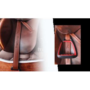 Freejump Classic Wide stirrups leathers