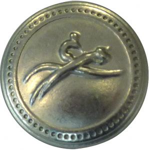 EQUITHÈME zilveren knoop, klein model