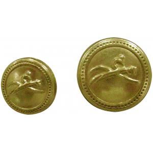 EQUITHÈME gouden knoop, klein model
